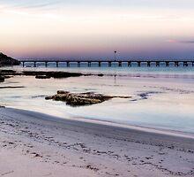Robe at sunset, South Australia by Elana Bailey