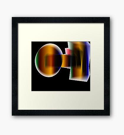 Intrusion Framed Print