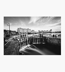 Grand Canal Dock, Dublin, Ireland Photographic Print