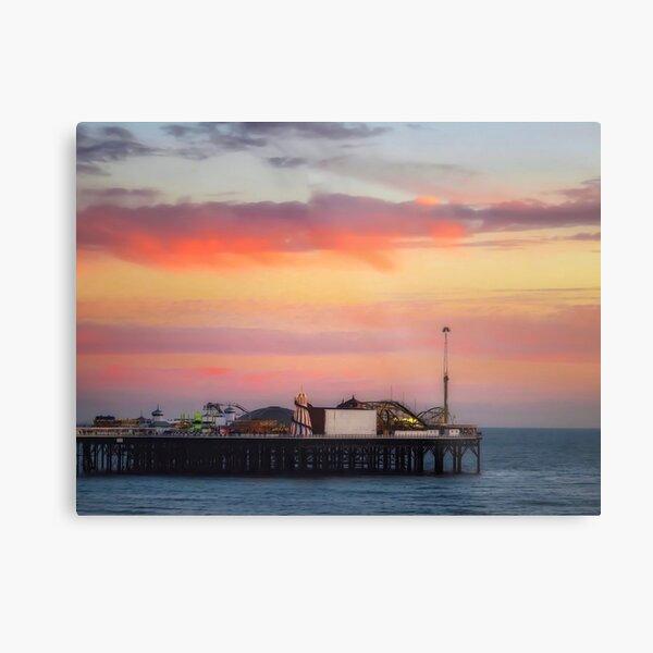 End of the pier Brighton  Metal Print