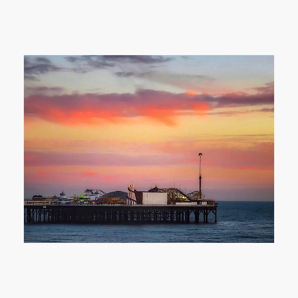 End of the pier Brighton  Photographic Print