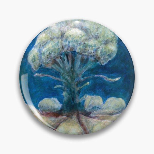 Birnen und Brokkolie Button