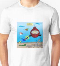 SCUBA Diving Too Deep Unisex T-Shirt