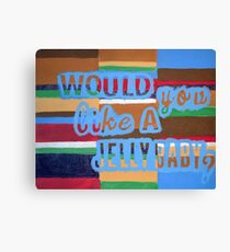 Would You Like A Jelly Baby? Canvas Print