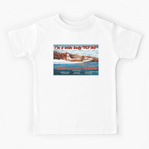 Trans Catalina Airlines Mallard Kids T-Shirt