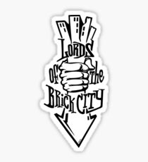'Lords of the Brick City' Sticker