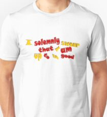 ISSIAUTNG HP quote T-Shirt