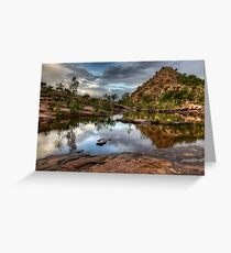 Bell Gorge Greeting Card