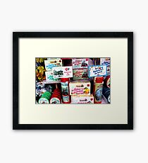 Boulogne Cheese Shop Framed Print