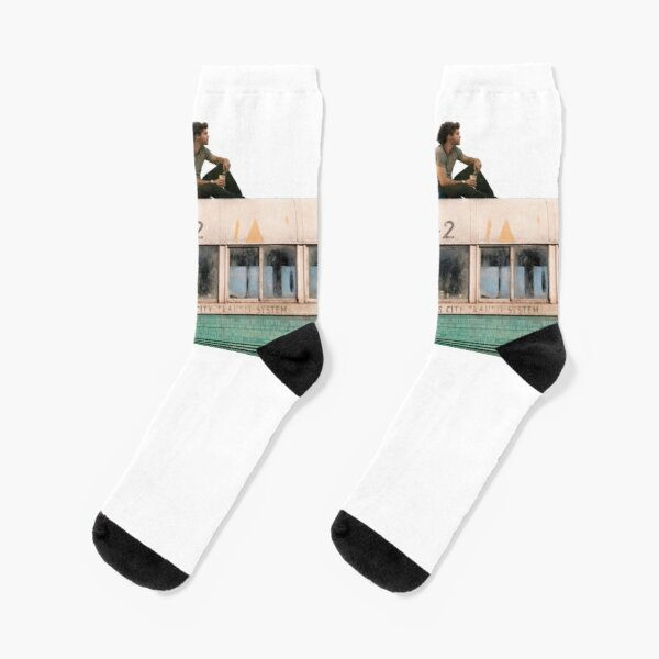 """""""Happiness is only real when shared"""" Socks"""