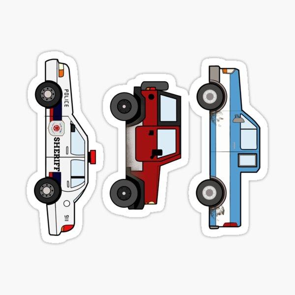 The Earp cars  Sticker