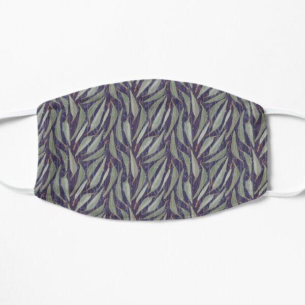 Bush Eucalyptus River leaves - Purple and Green Colour Palette Mask