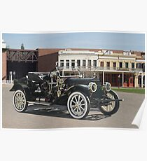 1911 Cadillac 'Gentlemans Roadster' Poster