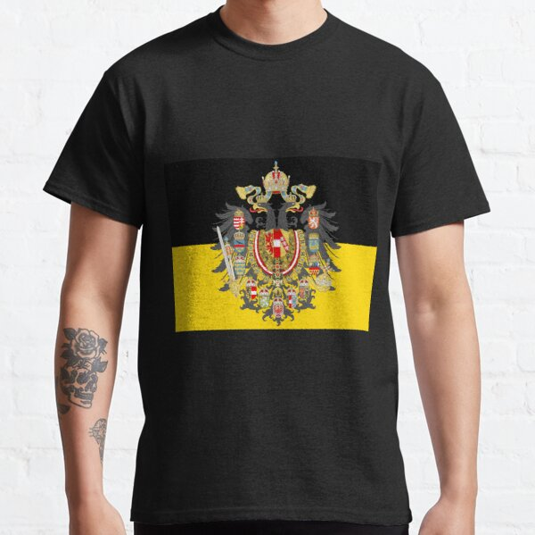 Black Stylised Austrian empire flag  Classic T-Shirt