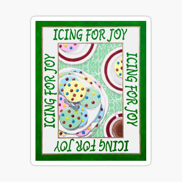 Icing for Joy Sticker