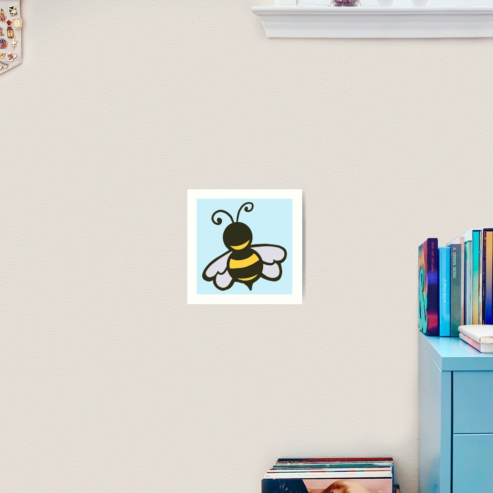 Kind Little Bee Art Print