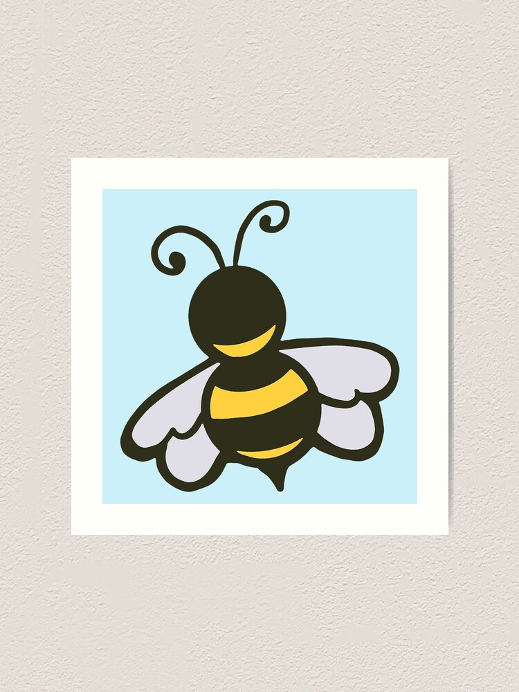 Alternate view of Kind Little Bee Art Print
