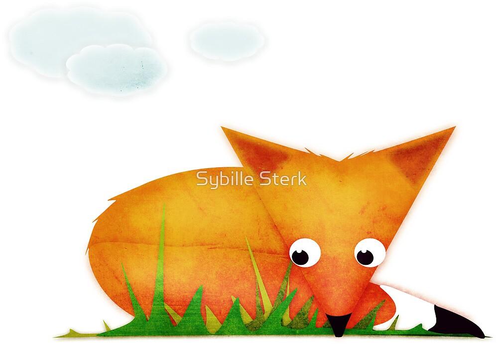 Sleepy Little Fox by Sybille Sterk