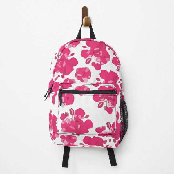 Valentines day pattern with japanese cherry blossom Backpack