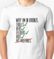 Why Im In Bronze T-Shirt