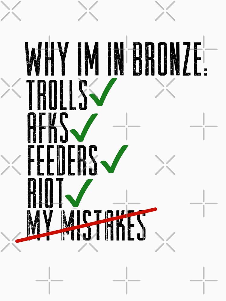 Why Im In Bronze | Unisex T-Shirt