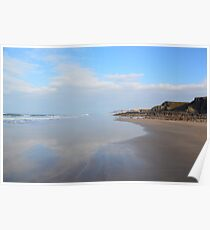 Northcott Mouth Beach Bude Cornwall Poster