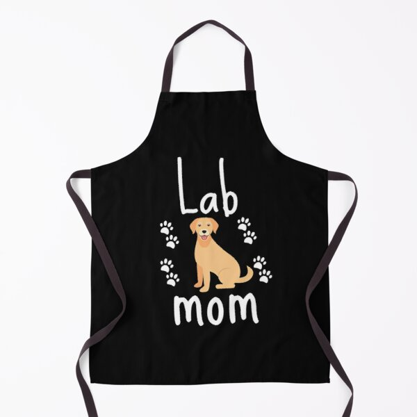 Lab Mom - Vector Labrador Retriever Apron