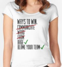 Ways To Win Women's Fitted Scoop T-Shirt