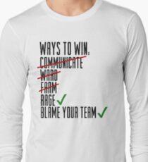 Ways To Win Long Sleeve T-Shirt