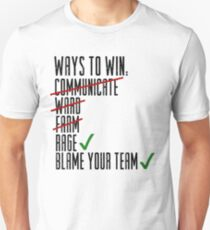 Ways To Win Unisex T-Shirt