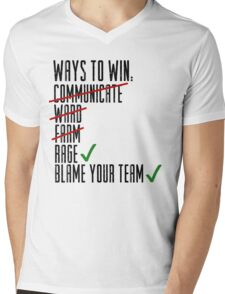 Ways To Win Mens V-Neck T-Shirt