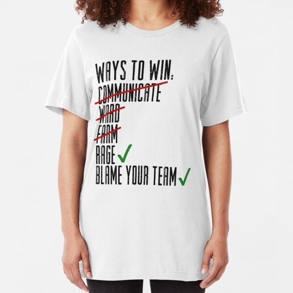 Ways To Win Slim Fit T-Shirt