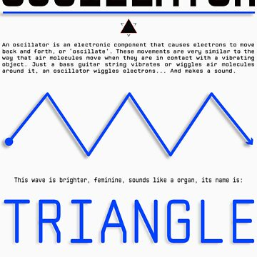 Oscillator Series: Triangle by ionnconnor