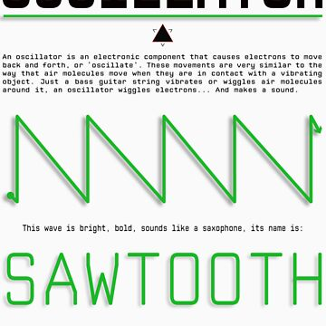 Oscillator Series: Saw by ionnconnor