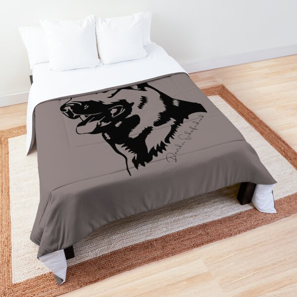 German shepherd dog Comforter