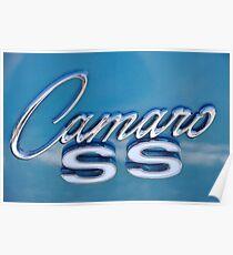 '68 SS Camaro Emblem Poster