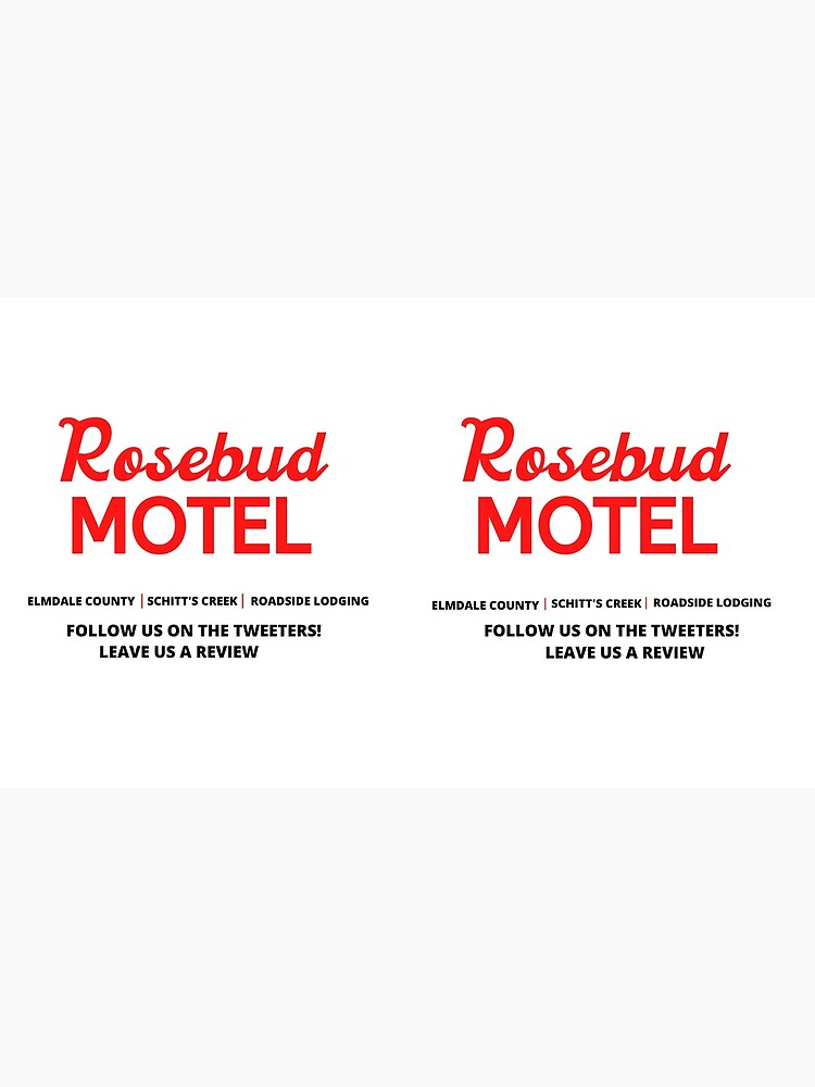Schitt's Creek Rosebud Motel Logo by litwordsinc
