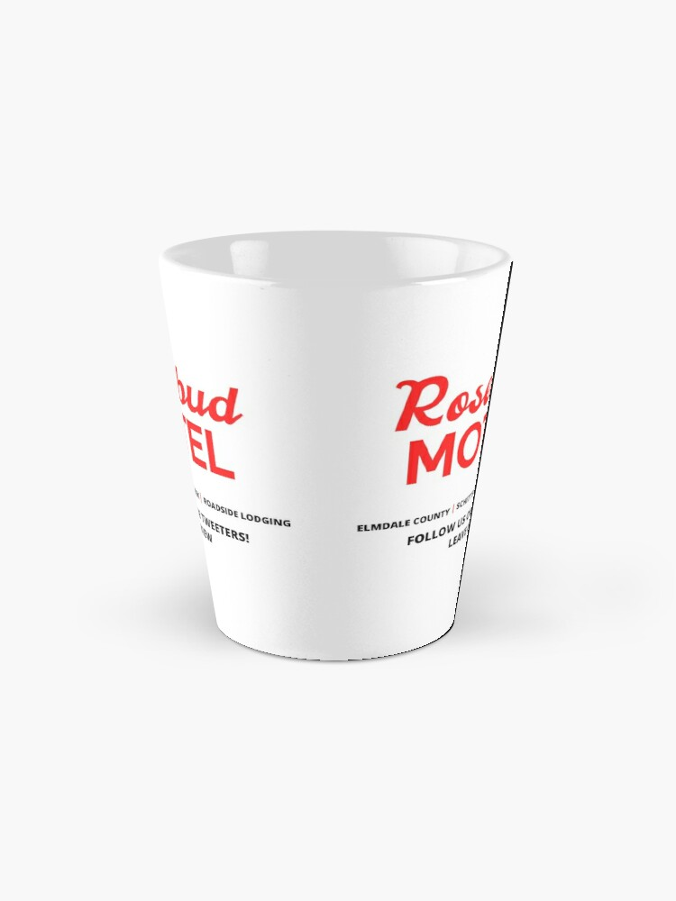 Alternate view of Schitt's Creek Rosebud Motel Logo Mug