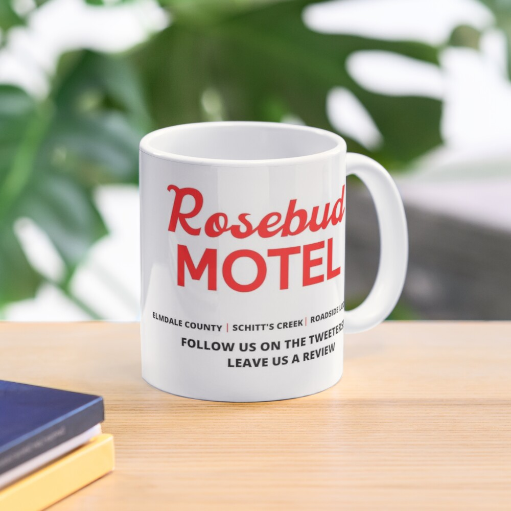 Schitt's Creek Rosebud Motel Logo Mug