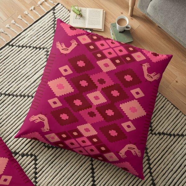 folk instinct Floor Pillow
