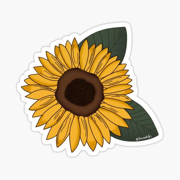 girasol (sunflower) Sticker