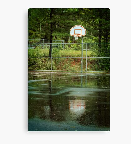 The Basket Ball Hoop Canvas Print