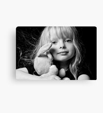 PRINCESSES MAGIC RABBIT. 4 Canvas Print