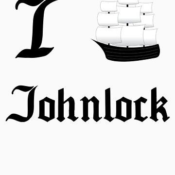 I Ship Johnlock by SpiffyByDesign