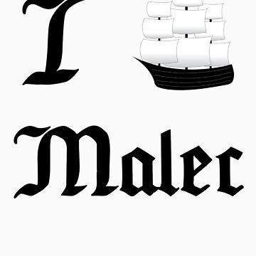 I Ship Malec by SpiffyByDesign