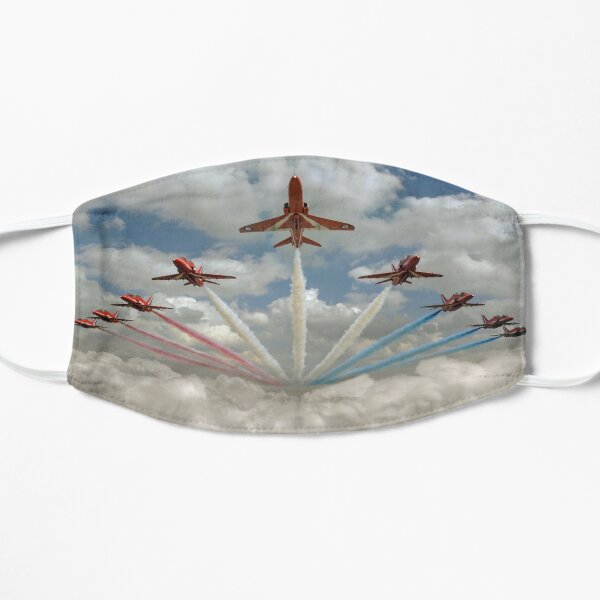 Red Arrows smoke on Mask