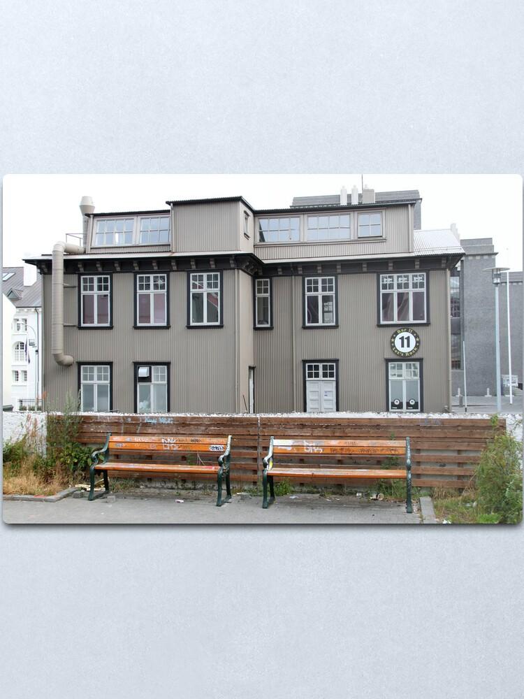 Alternate view of Iceland Metal Print