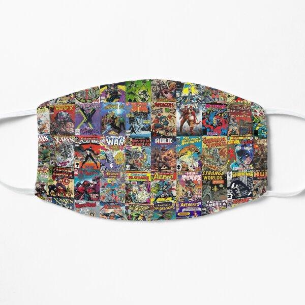 Comic Books Flat Mask