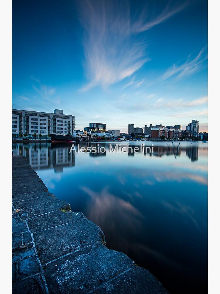Grand Canal Dock, Dublin, Ireland by darkmavis
