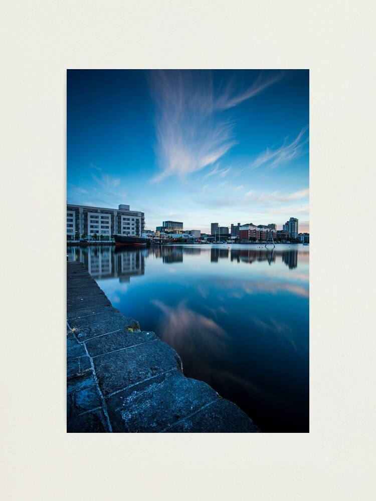 Alternate view of Grand Canal Dock, Dublin, Ireland Photographic Print